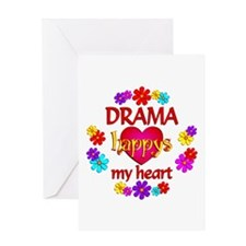 Happy Drama Greeting Card