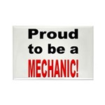 Proud Mechanic Rectangle Magnet (10 pack)