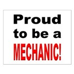 Proud Mechanic Small Poster