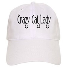 Crazy Cat Lady Baseball Cap