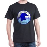 Miniature Dolphins Black T-Shirt