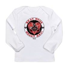 Beat Your Heart Out Long Sleeve Infant T-Shirt