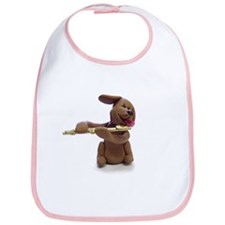 Candy Dog Tooter Bib