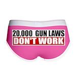 20,000 Gun Laws Women's Boy Brief