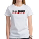 20,000 Gun Laws Women's T-Shirt