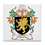 O'Griffey Coat of Arms Tile Coaster