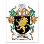 O'Griffey Coat of Arms Small Poster