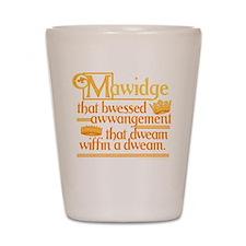 Princess Bride Mawidge Speech Shot Glass
