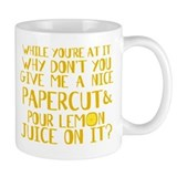 Lemon Juice Princess Bride Small Mug