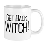 Get Back Witch Small Mug