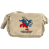 Anti Democrat Branded Donkey Messenger Bag