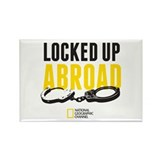 Locked Up Abroad Rectangle Magnet