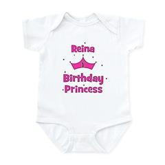CUSTOM 1st Birthday Princess REINA Infant Bodysuit