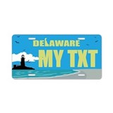 Delaware Lighthouse seaside replica gift plate
