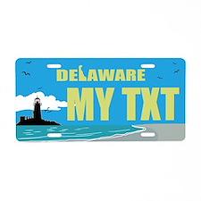 Delaware Lighthouse seaside replica gift plate