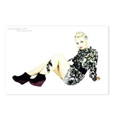 Eve Elle Poise Postcards (package Of 8)