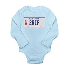 2RIP T Shirt Long Sleeve Infant Bodysuit