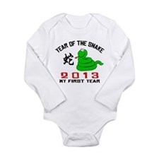 Born Year of The Snake 2013 Baby Long Sleeve Infan