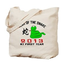 Born Year of The Snake 2013 Baby Tote Bag