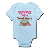 Loved By Tonkinese Cat Onesie