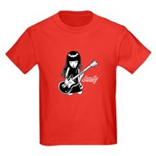Emily Rocks Kids Dark T-Shirt