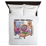 Grape Exectations Queen Duvet