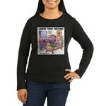 Grape Exectations Women's Long Sleeve Dark T-Shirt