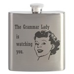 Grammar Lady is Watching You Flask