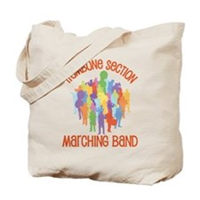 Trombone Section Band Tote Bag
