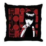 Emily VOX Throw Pillow