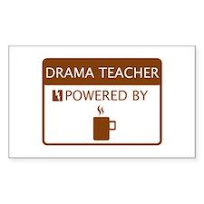 Drama Teacher Powered by Coffee Decal