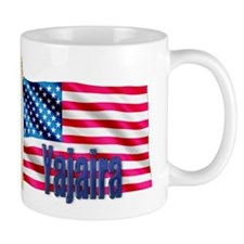 Yajaira Personalized USA Flag Mug