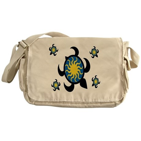 Sun Turtles Messenger Bag