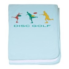 Disc Golf Triple Play baby blanket