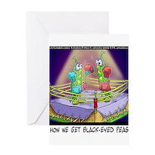 Where We Get Black-Eyed Peas Greeting Card