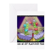 Where We Get Black-Eyed Peas Greeting Cards (Pk of