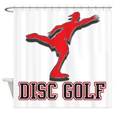 Disc golf rules Shower Curtain