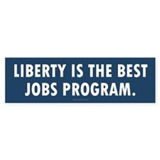 Liberty Jobs Bumper Sticker
