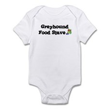 Greyhound FOOD SLAVE Infant Bodysuit