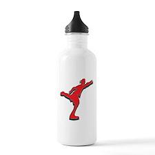 disc golfer supreme Water Bottle