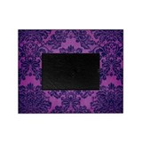 Grape Damask Picture Frame