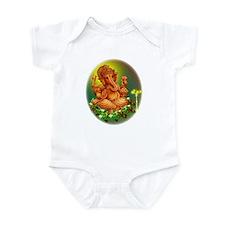 Golden Ganesha Infant Bodysuit