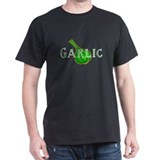 &quot;Garlic&quot; Black T-Shirt