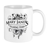 Mary Janes Relaxing Herbs Small Mug