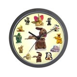 Candy Dog (& friends) Wall Clock