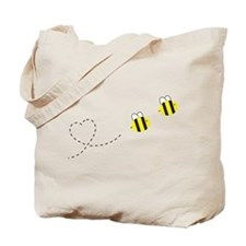 Bee in Love Tote Bag