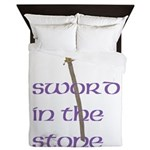 SWORD IN THE STONE Queen Duvet