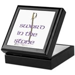 SWORD IN THE STONE Keepsake Box
