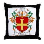 O'Feeney Coat of Arms Throw Pillow