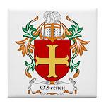 O'Feeney Coat of Arms Tile Coaster